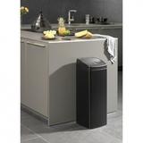 Прямоугольный мусорный бак Touch Bin (25 л), артикул 415906, производитель - Brabantia, фото 4