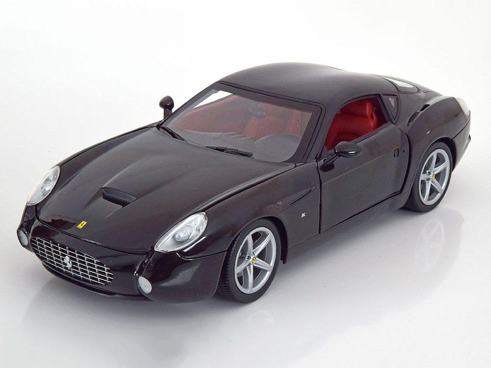"Коллекционная модель Ferrari 575 GTZ Zagato ""Foundation Series"" 2006 Black"