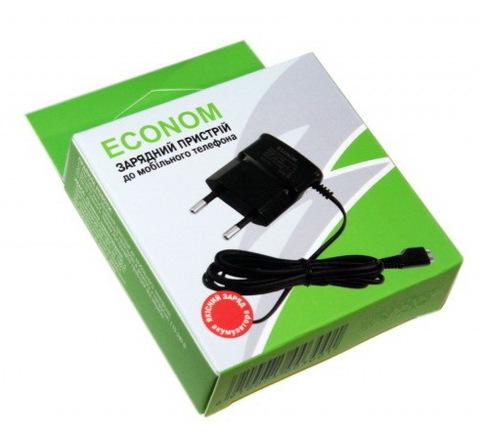 СЗУ Econom Nokia 8600 (microUSB)