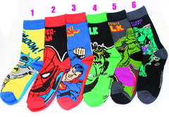 Socks logo Superhero Marvel