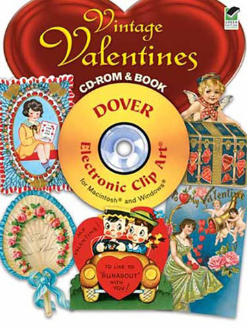 9780486991047 - Vintage Valentines CD-ROM and Book