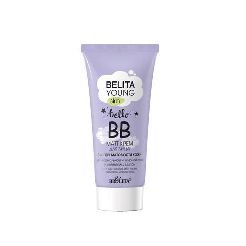 Belita Young Skin Крем ВВ-matt для лица для нормальной и жирной кожи 30мл