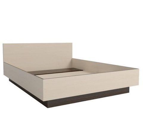 Кровать-1400 венге / дуб паллада