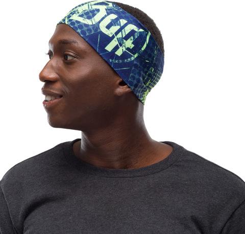 Повязка на голову спортивная Buff Headband CoolNet Havoc Blue фото 2