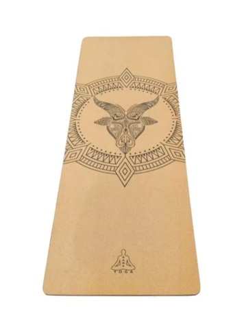Коврик для йоги Capricorn Zodiac Collection 183*60*0,4 см из пробки