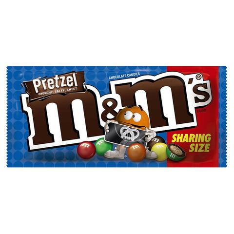 Шоколадное драже M&M's Pretzel с крендельками 80.2 гр