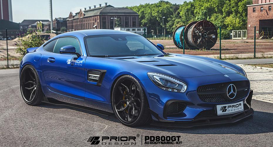 Обвес Prior Design для Mercedes AMG GT