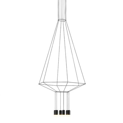 Подвесной светильник Vibia Wireflow hexagon
