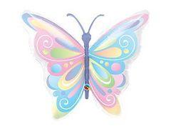 Q Фигура, Бабочка пастель, 40