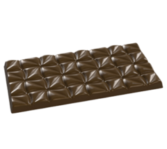 Форма поликарбонатная для шоколада - Плитка Соцветие