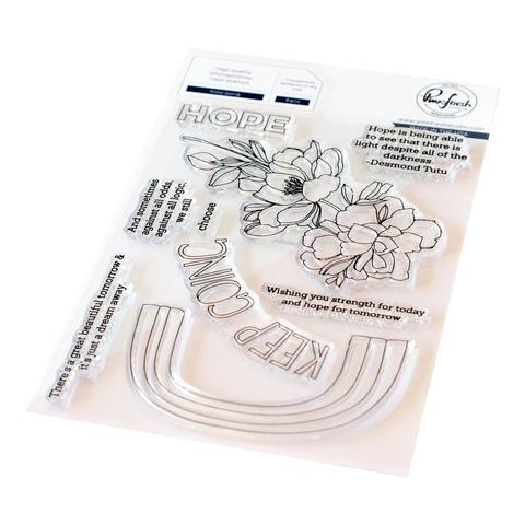 Штамп силиконовый Pinkfresh Studio Clear Stamp Set  10х15 см