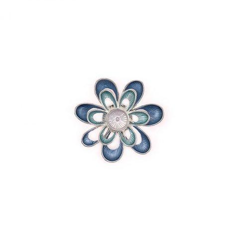 Брошь Цветок XZ0573.22 BL/S