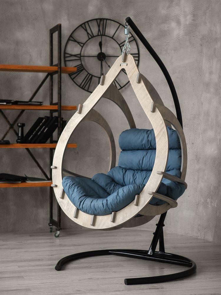 Подвесные кресла Подвесное кресло-кокон Капулло (Туманный лес) kreslo-kokon-capullo-cvet-tumaniy-les-1.jpg