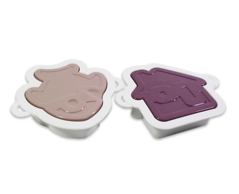 8557 FISSMAN Набор из 2 вырубок со штампом для печенья или создания декоративных элементов,  купить
