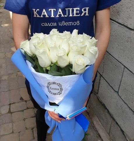 Букет школьника из 25 роз