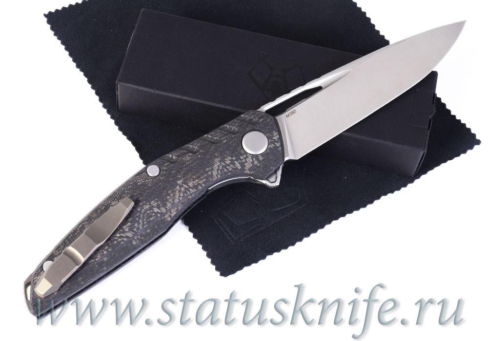 Нож Широгоров 111 Gen 5 M390 Bronze CF - фотография