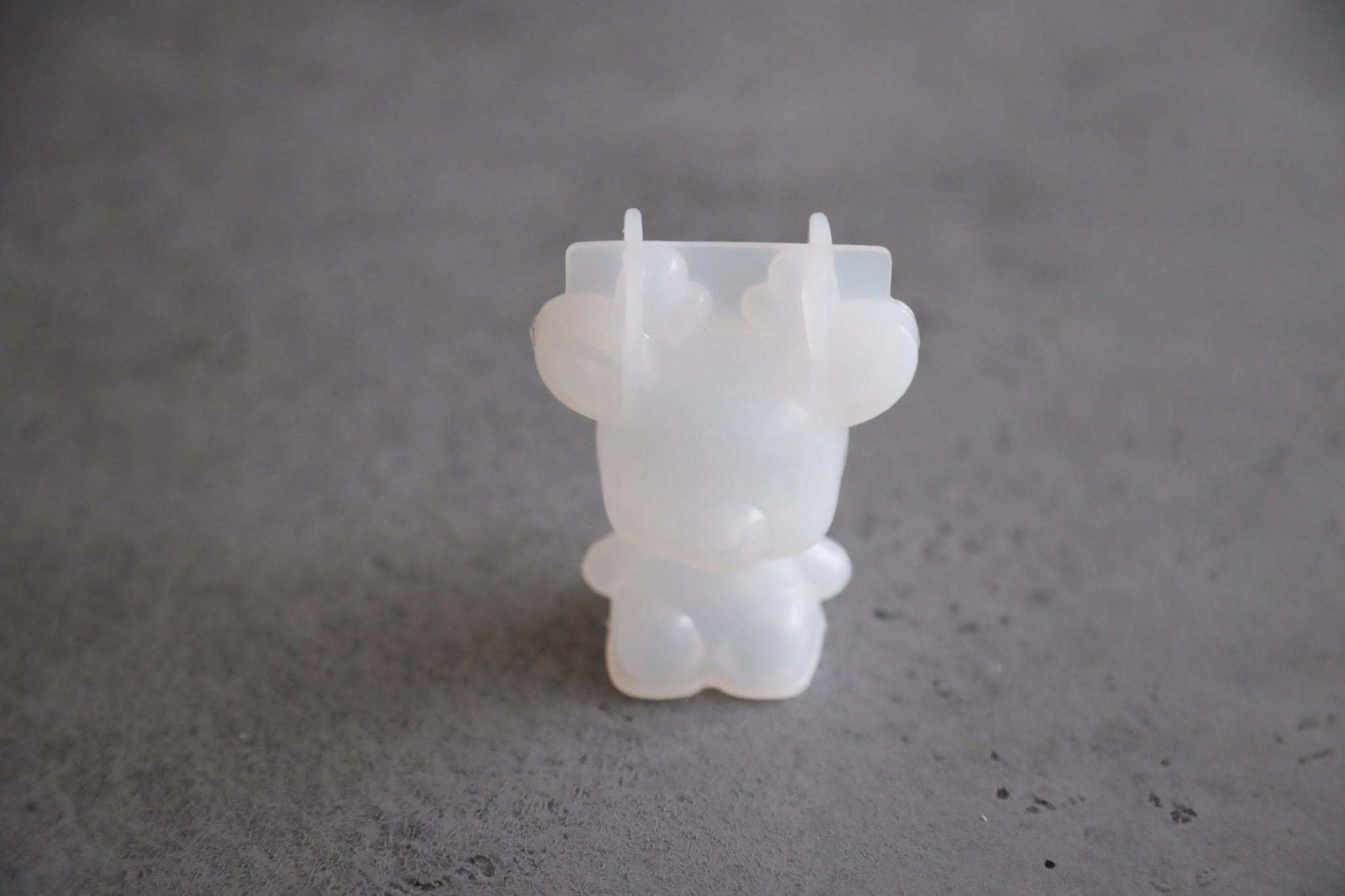 Форма силиконовая «Оленёнок с рожками»