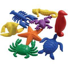 фигурки Морские животные (счетный материал, 14 элементов) Edx education, арт. 13150C