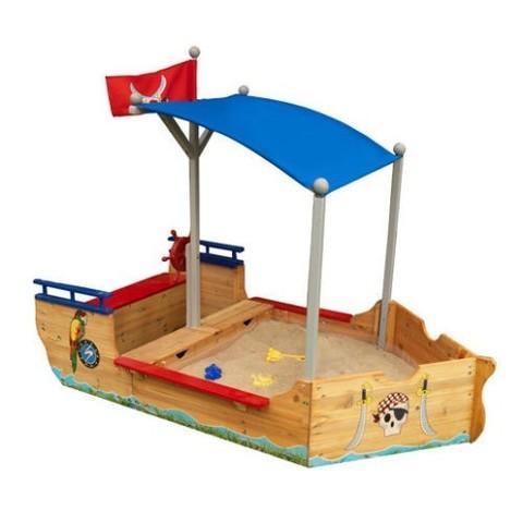 KidKraft Пиратская лодка Pirate Sandboat - песочница 00128_KE