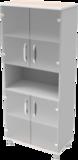 Шкаф медицинский общего назначения 2.01 тип 3 АйВуд Medical Office