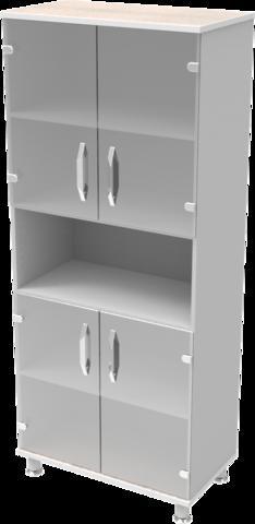 Шкаф медицинский общего назначения 2.01 тип 3 АйВуд Medical Office - фото