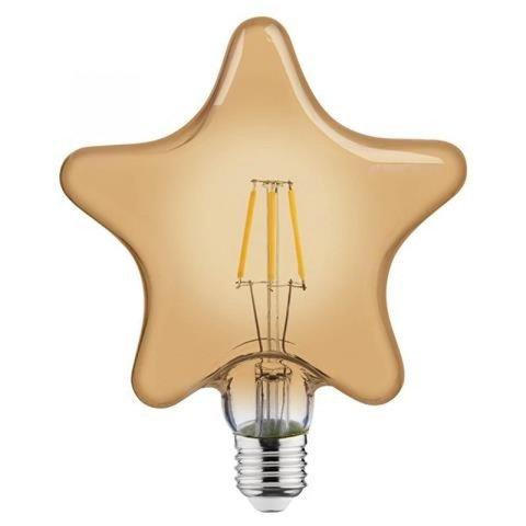 Светодиодная ретро лампа STAR 6W E27