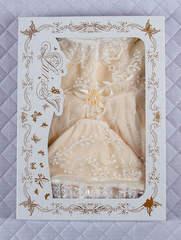 Зимний набор на выписку из роддома Мария (кремовый)