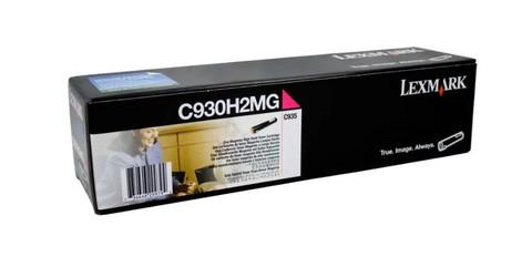 Оригинальный лазерный картридж Lexmark C930H2MG пурпурный
