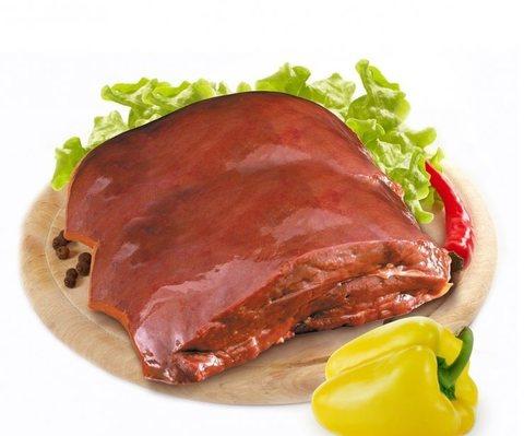 Печень свиная 1кг