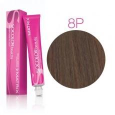 Matrix SOCOLOR.beauty: Pearl 8P светлый блондин жемчужный, краска стойкая для волос (перманентная), 90мл