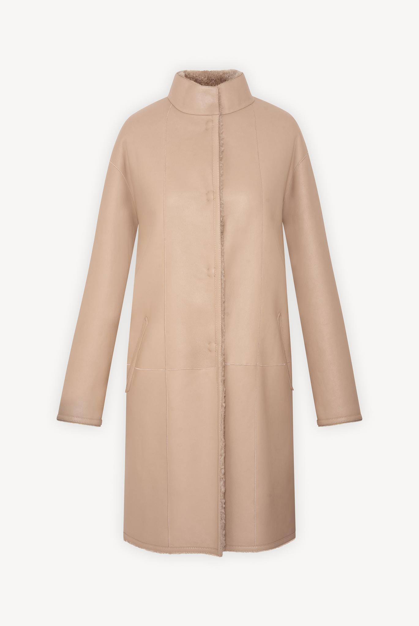 MARGARETT - Двустороннее кожаное пальто