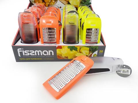 7208 FISSMAN Терка для сыра с контейнером 17 см,  купить