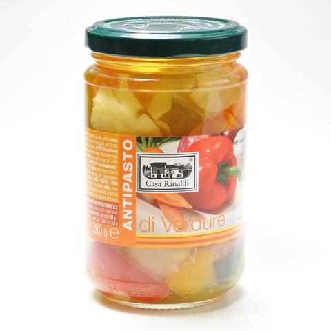 Закуска из овощей в подсолнечном масле Casa Rinaldi 280 г