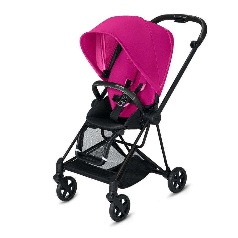 Cybex Mios прогулочная Прогулочная коляска  Cybex Mios Fancy Pink matt black cybex-miosfancy-pink-matt-black-bl-seat.jpg