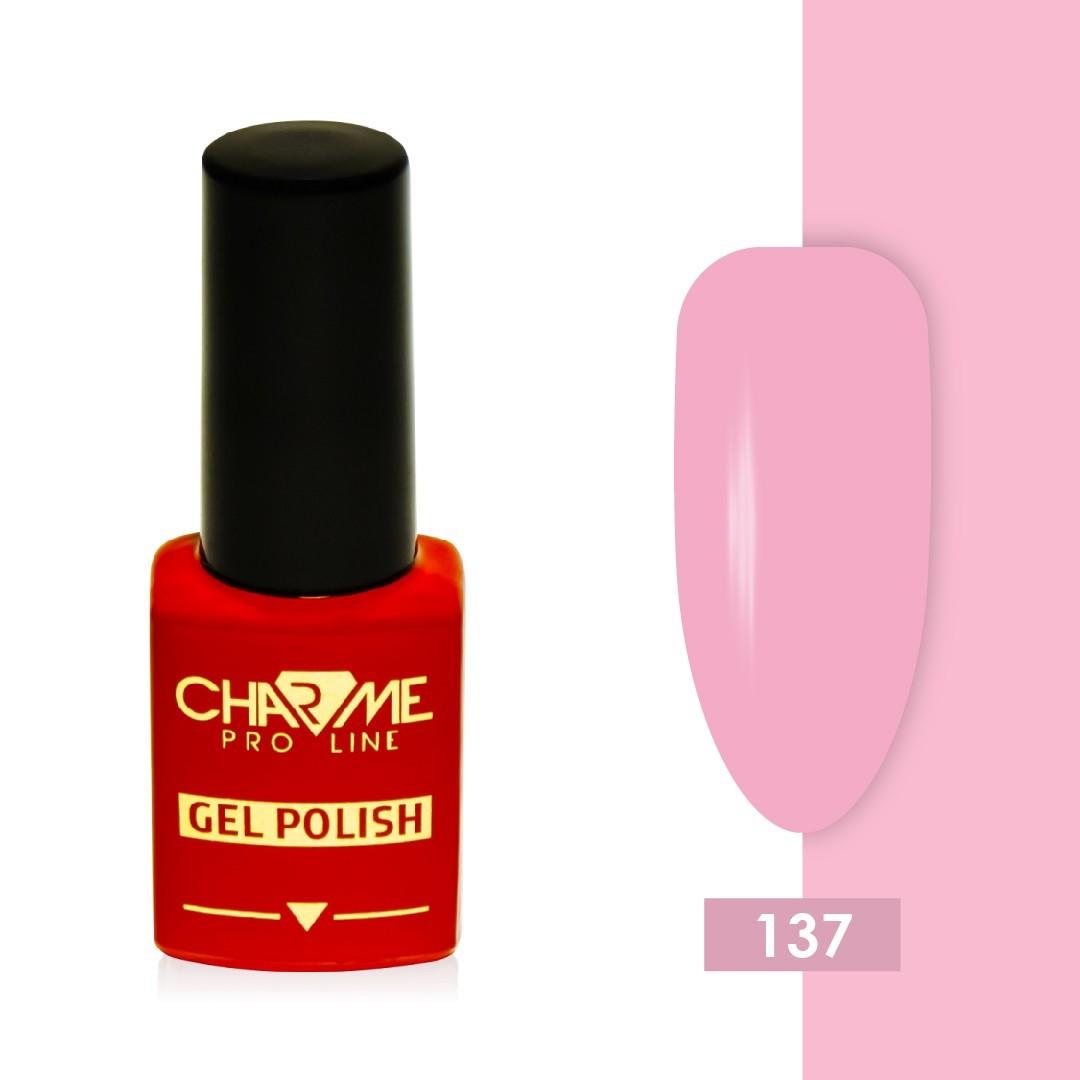 Гель-лак 136 - розовый крем 136 Charme 10 мл