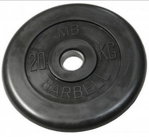Диск Barbell MB 15 кг (51 мм)