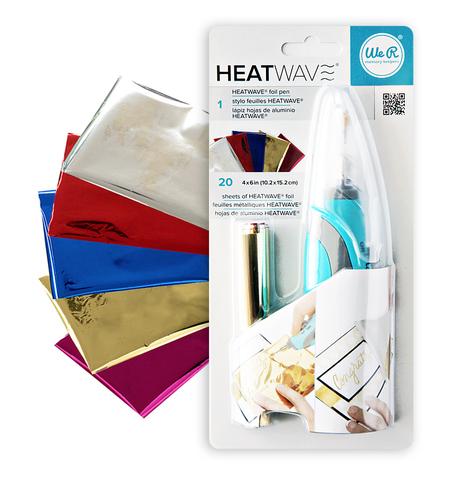 Инструмент для фольгирования Heatwave Pen Tool Starter Kit by We R Memory Keepers