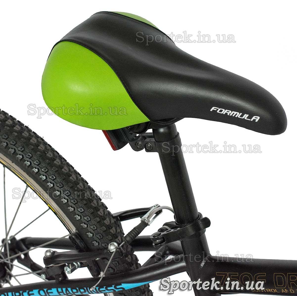 Сідло гірського універсального підліткового велосипеда Формула Компас 2016