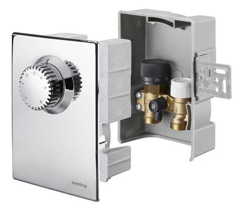 Терморегулятор Oventrop Unibox E plus арт.1022643 (57мм) хром комбинированный (