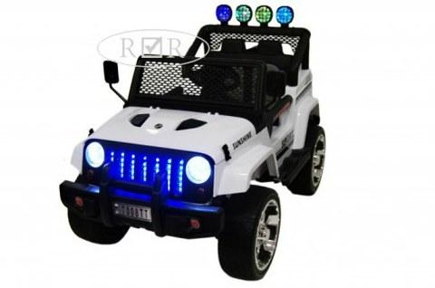 Детский электромобиль Rivertoys T008TT белый
