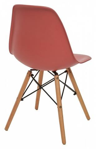 Стул LUPINE CORAL М-City (обеденный, кухонный, для гостиной), Материал каркаса: Массив бука, Цвет каркаса: Натуральный, Материал сиденья: Пластик, Цвет сиденья: Коралл, Цвет: Розовый, Материал каркаса: Дерево