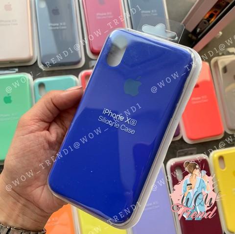 Чехол iPhone 6+/6S+ Silicone Case Full /ultramarine/ ультрамарин