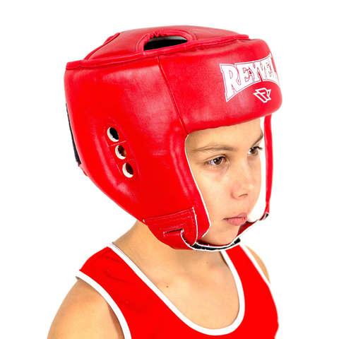 Шлем для боевого самбо RV-302 Reyvel красный