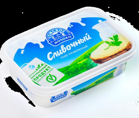 """Сыр плавленный """"Томское молоко"""" сливочный 180г"""