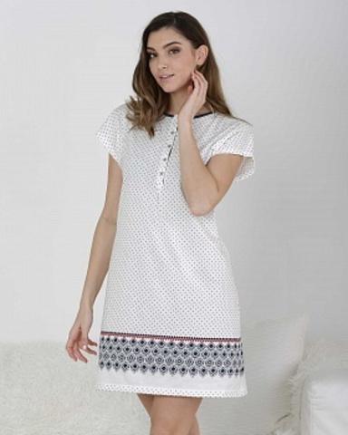 Ночная сорочка женская с короткими рукавами Massana ML_717250