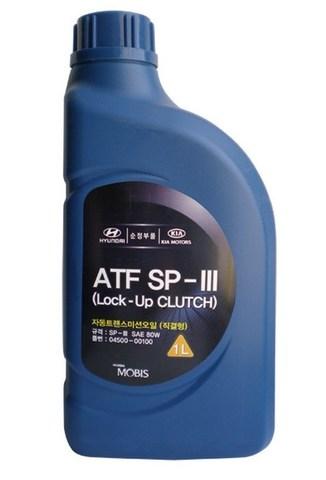 HYUNDAI ATF SP-III Жидкость трансмиссионная АКПП (пластик/Корея)