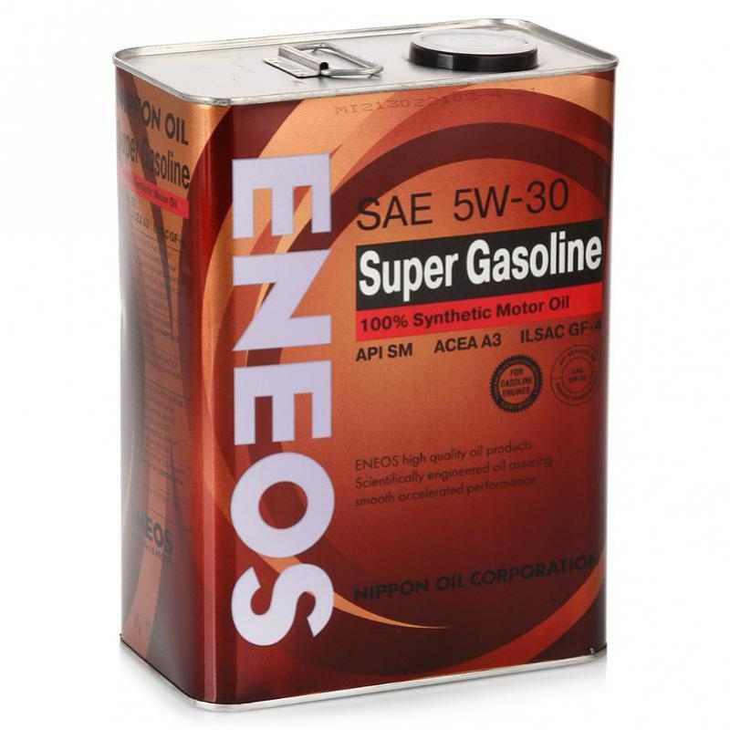 Eneos Super Gasoline SM 5W30 (4л) -Синтетическое моторное масло