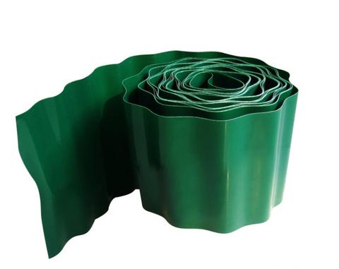 Бордюр для газона h20см (9м) волнистый зеленый 209WG