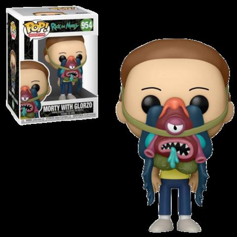 Funko POP! Animation Rick & Morty Morty w/ Glorzo