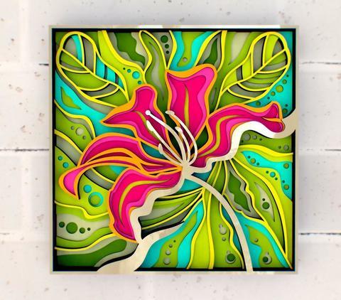 Экзотический цветок (SamCraft)